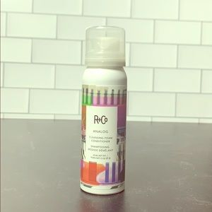 R+Co Analog Cleansing Foam Shampoo Conditioner